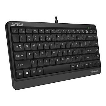 A4 Tech FK11 Q USB Kablolu MM Mini Klavye Gri