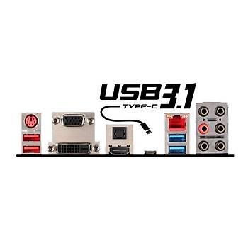 MSI Z97A GAMING 6 DDR3 VGA DVI HDMI DP GLAN(KILLER) SATA EXP. M2 SATA3 USB3.1