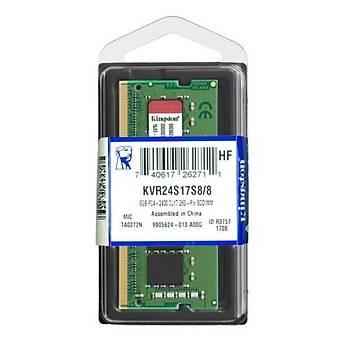Kingston NTB 8GB 2400MHz DDR4 KVR24S17S8/8