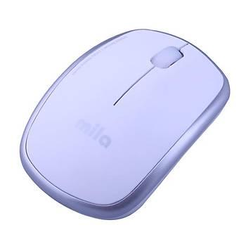 Mila Silent Serisi SESSÝZ Kablosuz Beyaz Mouse (ML402)
