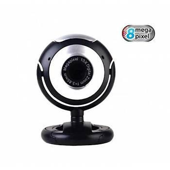 O-Smart W5 8MP Mikrofonlu Web Cam Webcam - ZOOM / EBATV UYUMLU