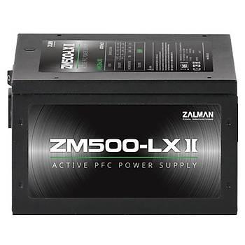 Zalman ZM500-LXII 500W Güç Kaynaðý/Power Supply