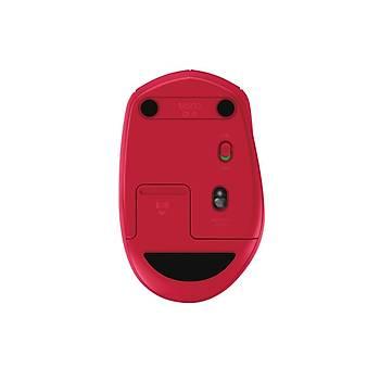 Logitech M590 Multi-Device Sessiz Kablosuz Mouse-Kýrmýzý 910-005199