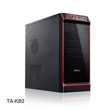 Vento TA-KB2 400W Mid Tower Kasa Siyah-Kýrmýzý