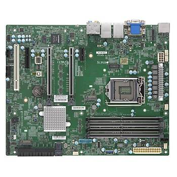 SUPERMÝCRO X11SCA-F C246 LGA1151 ATX DDR4 2666 HDMI DP DVI USB3 1 M2 U2 PCI PCIE16 2PCS 8SATA IPMI MOTHERBOARD