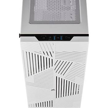 CORSAIR 275R Airflow Tempered Glass USB 3.0 Beyaz Mid Tower Kasa