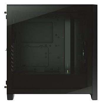 Corsair CC-9011200-WW 4000D Airflow Temperli Cam Yan Panel Mid Tower Bilgisayar Kasasý Siyah