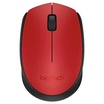 Logitech M171 Kablosuz Mouse Kýrmýzý 910-004641