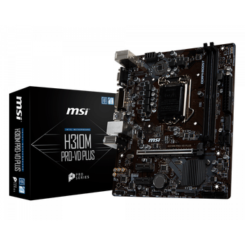 MSI H310M PRO-VD PLUS 8.9.Nesil Intel 1151 DDR4 2666MHz Anakart