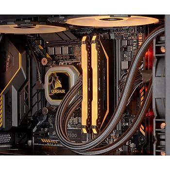 Corsair CMW16GX4M2C3200C16-Tuf 16GB (2x8GB) DDR4 3200 MHz C18 Vengeance RGB Black DIMM Bellek Ram