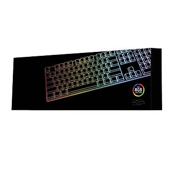 Sharkoon PureWriter RGB Kýrmýzý Swich Mekanik Gaming Klavye