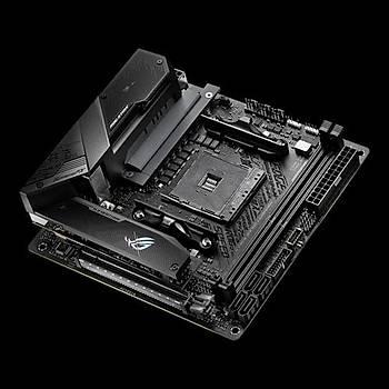 ASUS ROG STRIX B550-I GAMING AMD B550 AM4 DDR4 5100 DPHDMI ÇÝFT M2 USB3.2 AX WÝFÝ BT ARGB 2.5GBÝT LAN MÝNÝ ITX PCIE 4.0 ECC RAM DESTEÐÝ AI SES ENGELLEYÝCÝ MÝC. DESi BT ARGB 2.5Gbit LAN Mini ITX PCIe 4.0 ECC RAM Desteði AI Ses Engelleyici Mic. Desteði