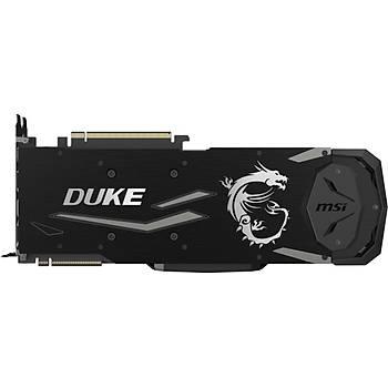 Msi VGA Geforce RTX 2080 TI Duke 11G OC RTX2080TI 11GB GDDR6 352B DX12U PCIE 3.0 X16 Ekran Kartý