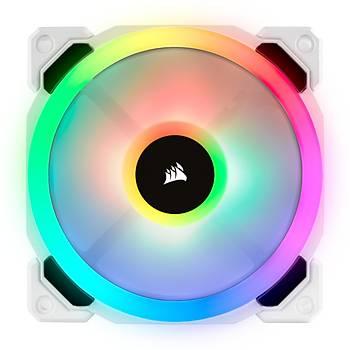 CORSAIR CO-9050092-WW LL120 RGB 120 MM CIFT RGB RENK DONGULU BEYAZ PWM FAN LIGHTING NODE PRO KONTROLCU ILE BIRLIKTE 3 LU PAKET