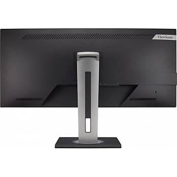ViewSonic Business Monitor VG3456 (34 VA 21:9 3440 x 1440 WQHD 2xHDMI DP USB Type-C RJ45 FreeSync / G-Sync Ergonomik Yükseklik-Ayarlý 40Tilt)