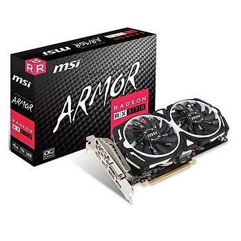 MSI VGA RADEON RX 570 ARMOR 4G RX570 4GB GDDR5 256B DX12 PCIE 3.0 X16 (1XDVI 1XHDMI 3XDP)