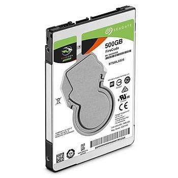 Seagate Firecuda 2.5 500GB Sata 3.0 128MB 140MB/S 5400RPM 7MM ST500LX025 Notebook HDD & Harddisk