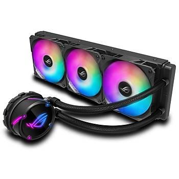 Asus Rog Strix LC 360 RGB Aura Sync RGB 120MM Adreslenebilir Fan Sývý Cpu Soðutucusu Ýþlemci Faný