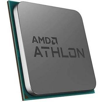 AMD Athlon 3000G 3.50GHz 4MB Soket AM4 Ýþlemci (Fanlý)