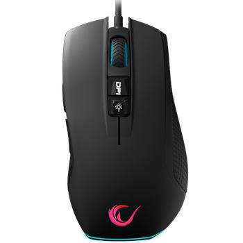 Rampage SMX-R51 FLARE 10000 Dpi RGB Profesyonel Makrolu Mouse