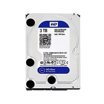 WD Blue 3,5 SATA III 6Gb/s 3TB 64MB WD30EZRZ