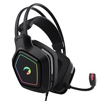 Gamepower Mihawk Siyah 7.1 Surround RGB Gaming Oyuncu Kulaklýk