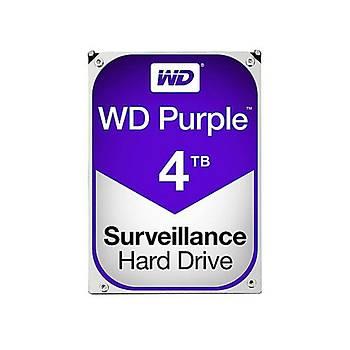 WD Purple 3.5 SATA III 6Gb/s 4TB 64MB 7/24 Guvenlik WD40PURZ