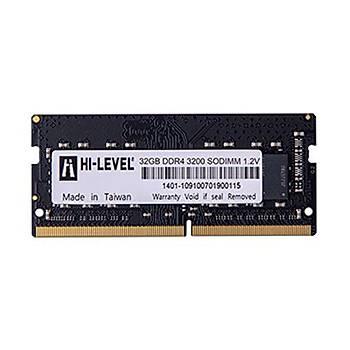 HI-LEVEL NTB 32GB 3200MHz DDR4 HLV-SOPC25600D4/32G