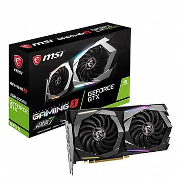 MSI GeForce GTX 1660 Ti GAMING X 6GB GDDR6 192 Bit Ekran Kartý