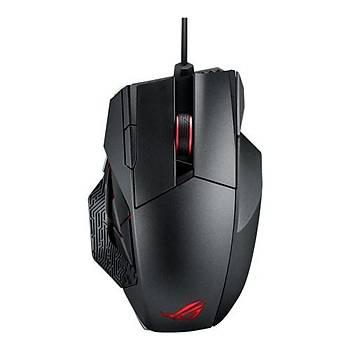 Asus Rog Spatha Kablolu/Kablosuz MMO Oyuncu Mouse 12 Tuþ, 8200 Dpi Laser Sensor, Aura Sync RGB Oyuncu Mouse