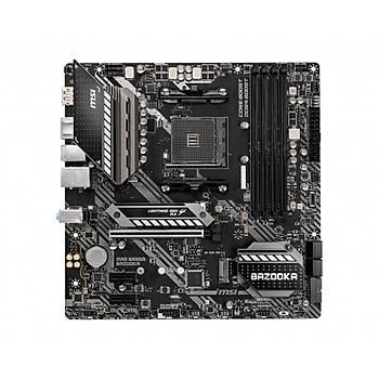 MSI MAG B550M BAZOOKA AM4 DDR4 4400(OC) HDMI DP M.2 USB3.2 MATX