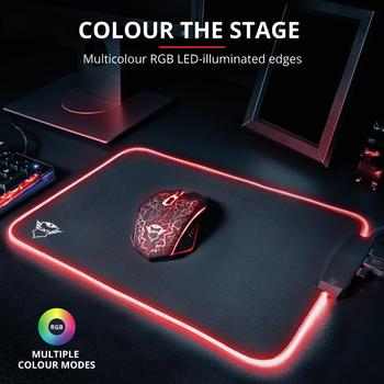 Razer Huntsman Mini Purple Switch Ýngilizce RGB Gaming Klavye + Trust GXT765 Glide-Flex RGB Mousepad Bundle