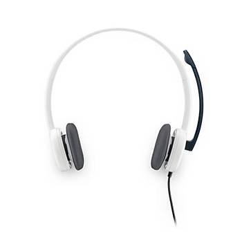 Logitech H150 Stereo Kulaklýk-Beyaz 981-000350
