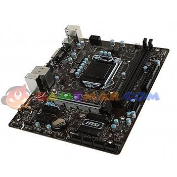 MSI B250M PRO-VD Intel B250 Chipset 2400MHz DDR4 Soket 1151 mATX