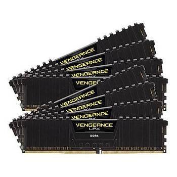 CORSAIR CMK256GX4M8E3200C16 256GB (8X32GB) DDR4 3200MHz CL16 VENGEANCE BLACK LPX SOGUTUCULU DIMM BELLEK