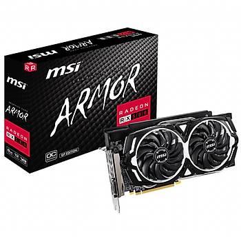 MSI Radeon RX 580 Armor GP OC 8GB 256Bit GDDR5 DX12 Ekran Kartý