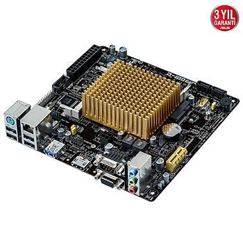 ASUS J1900I-C 8GB DDR3L 1333 MHz 2 x SATA 3Gb 1 x D-Sub 1 x HDMI 1 x USB 3.1 ANAKART