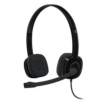 Logitech H151 Stereo Kulaklýk-Siyah 981-000589