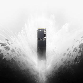 WD Black NVMe SSD 250GB PCIe Gen3 8Gb/s M2 2280 3000MB/s-1600MB/s WDS250G2X0C