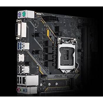 ASUS TUF H310M-PLUS GAMING R2.0 INTEL H310 LGA1151 DDR4 2666 HDMI DVI M2 USB3.1 AURA RGB MATX