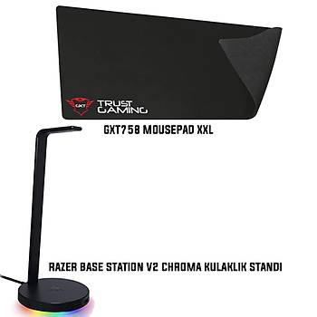 Razer Base Station V2 Chroma +  Trust GXT758 Mousepad XXL Bundle