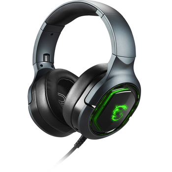 Msi GG Immerse GH50 Gaming Headset 7.1 Surround Titreþimli RGB LED Mystic Light 2x40 Mm Kulaklýk