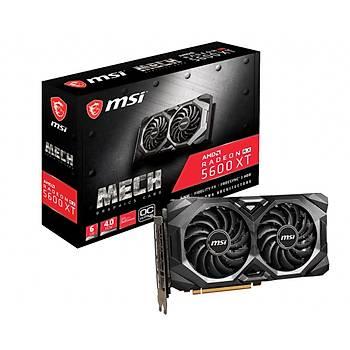 MSI Radeon RX 5600 XT MECH OC 6GB GDDR6 192 Bit Ekran Kartý