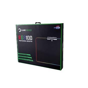 Gamepower RGB100 Pro Rgb Oyuncu MousePad