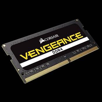 CORSAIR CMSX32GX4M2A2666C18 16GB (2x16GB) DDR4 2400MHz CL18 VENGEANCE SIYAH NOTEBOOK SODIMM BELLEK