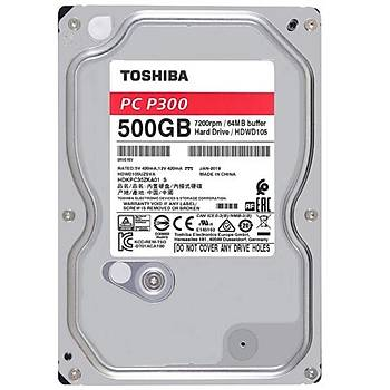 Toshiba 3.5 P300 500GB  7200RPM HDWD105UZSVA