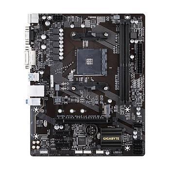Gigabyte AB350M-D3V DDR4 M.2 DVI D-Sub 16x Ryzen AM4 mATX Anakart