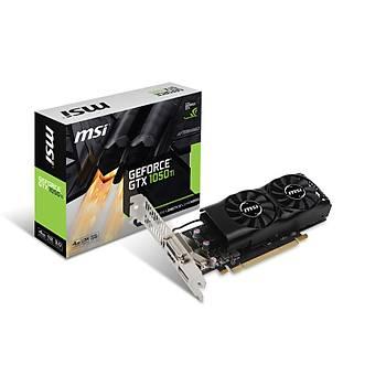 MSI VGA GEFORCE GTX 1050 TI 4GT LP GTX1050TI 4GB GDDR5 128B DX12 PCIE 3.0 X16 (1XDVI 1XHDMI 1XDP)