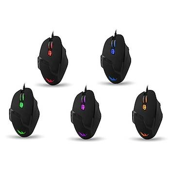 Everest Rampage SMX-R7 Siyah 4000 Dpi Gaming Mouse