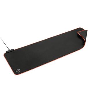 Razer Huntsman Mini Purple Switch Ýngilizce RGB Gaming Klavye + Trust GXT764 Glide-Flex RGB XXL Mousepad Bundle
